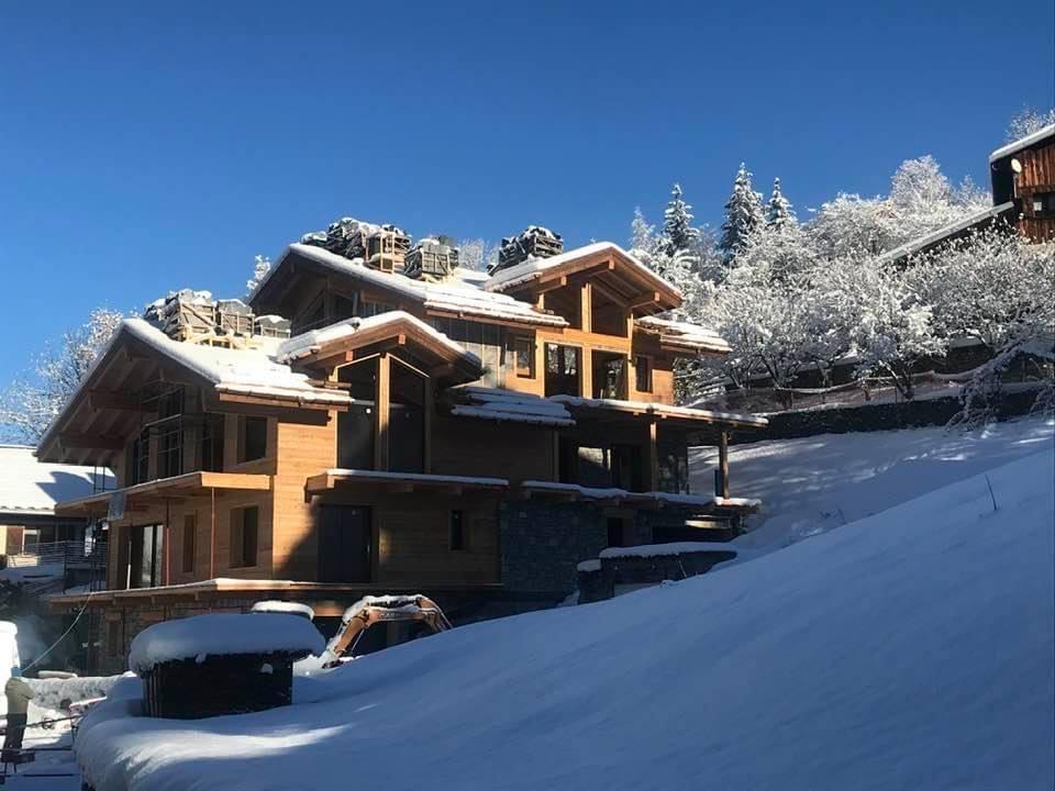 chalet alpes - chalet de luxe avec Piscine Black Diamond Paradiski chalet Alpes
