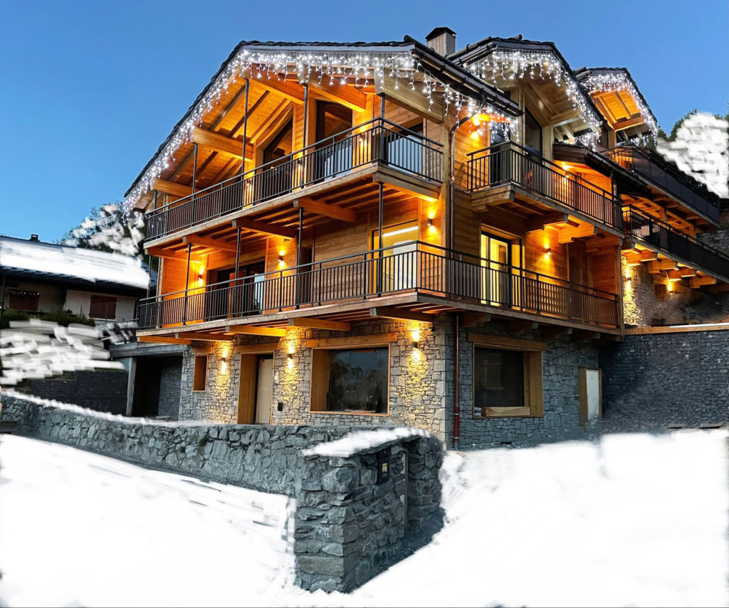 Luxury Chalet with Pool The French Lodge Peisey-Nancroix